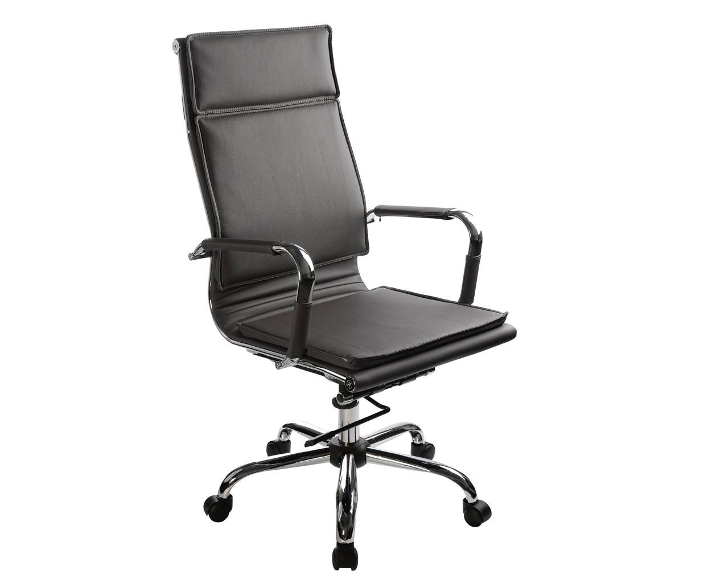 Жесткое кожаное кресло для руководителя