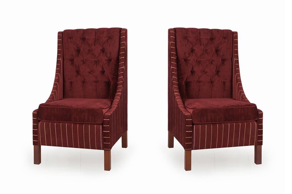 Бархатные кресла