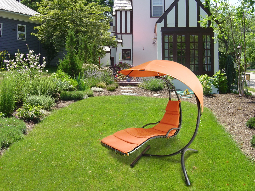Дачное кресло шезлонг