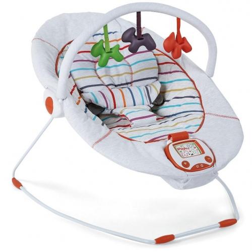 Детское кресло шезлонг светлое