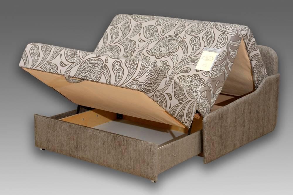 Диван кровать аккордеон с бельевым ящиком