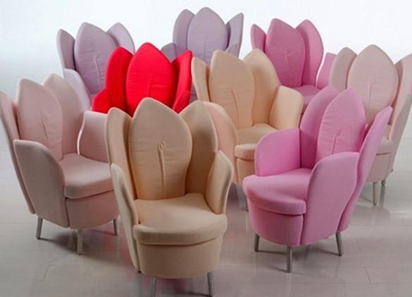 Красивые кресла для спальни