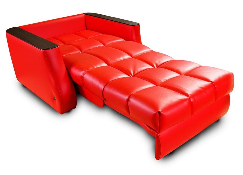 Красное кресло кровать