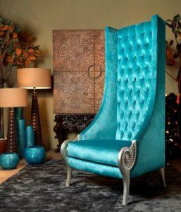 Кресла с высокой спинкой для дома