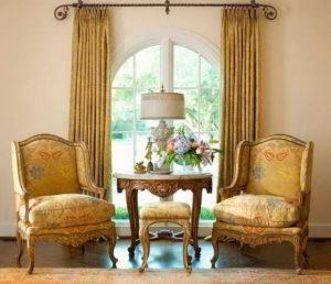 Кресло Bergere наследство французского рококо