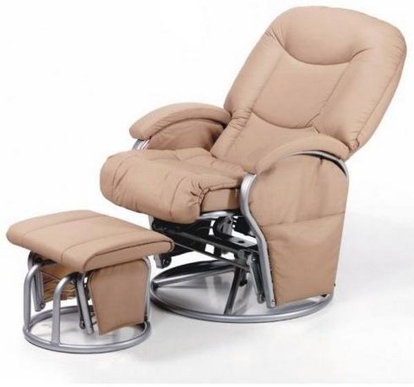 Кресло для кормления с вращающимся механизмом