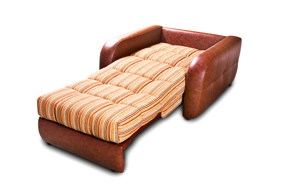 Кресло из кожзама