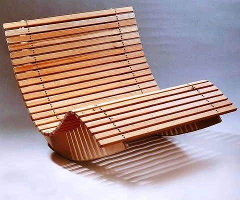 Кресло качалка сделанное из фанеры своими руками