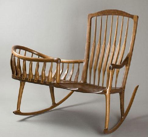 Кресло качалка в детскую комнату
