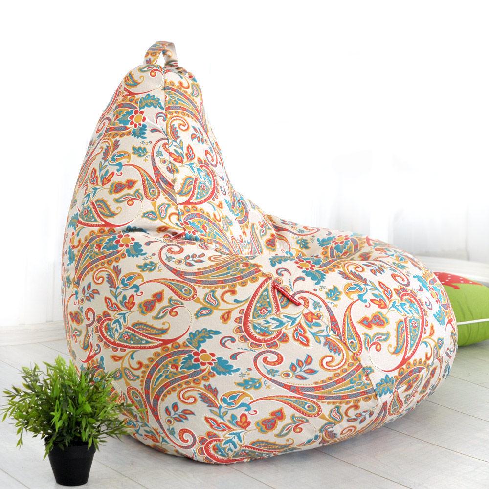 Кресло мешок из шенилла