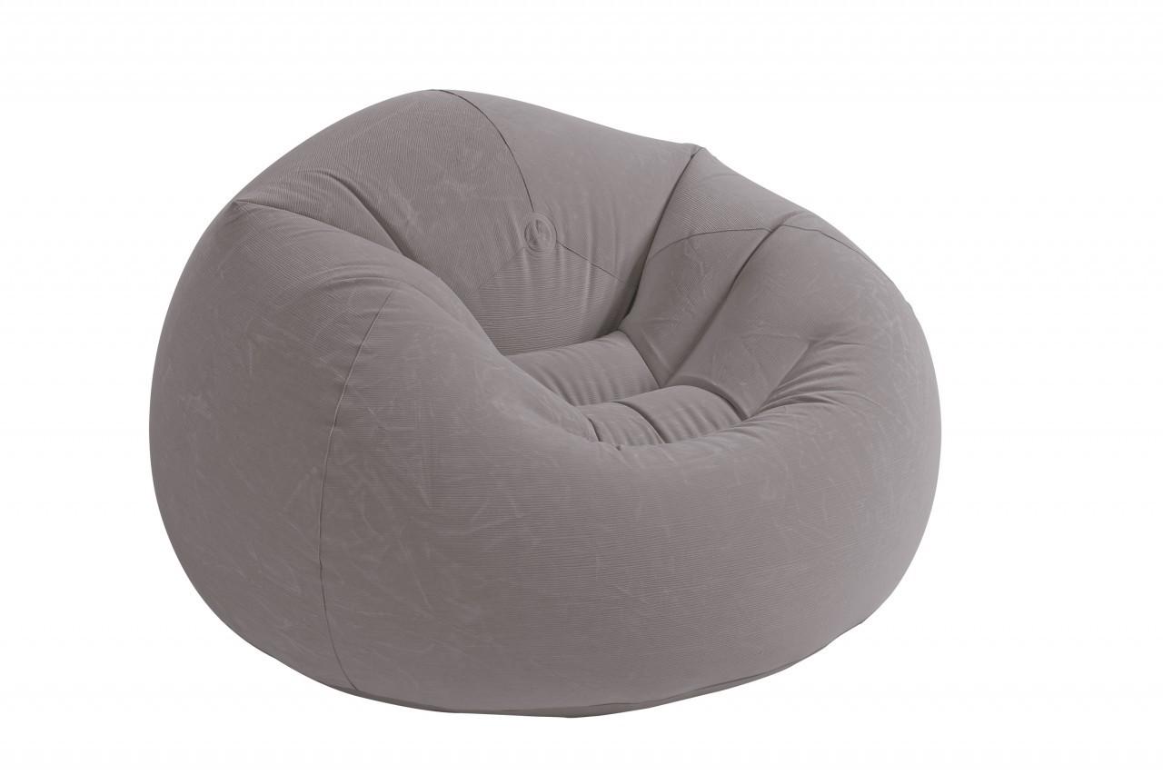 Кресло мешок серое