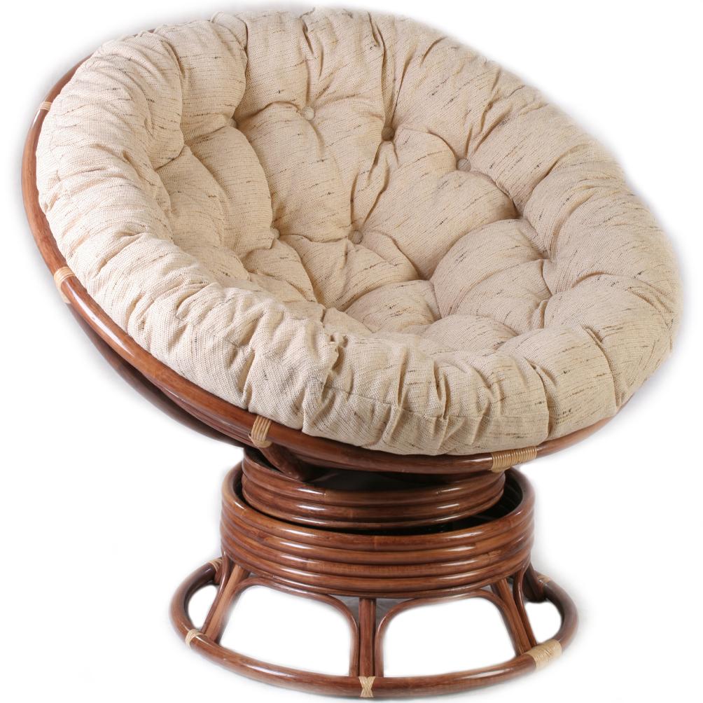 Кресло папасан из ротанга