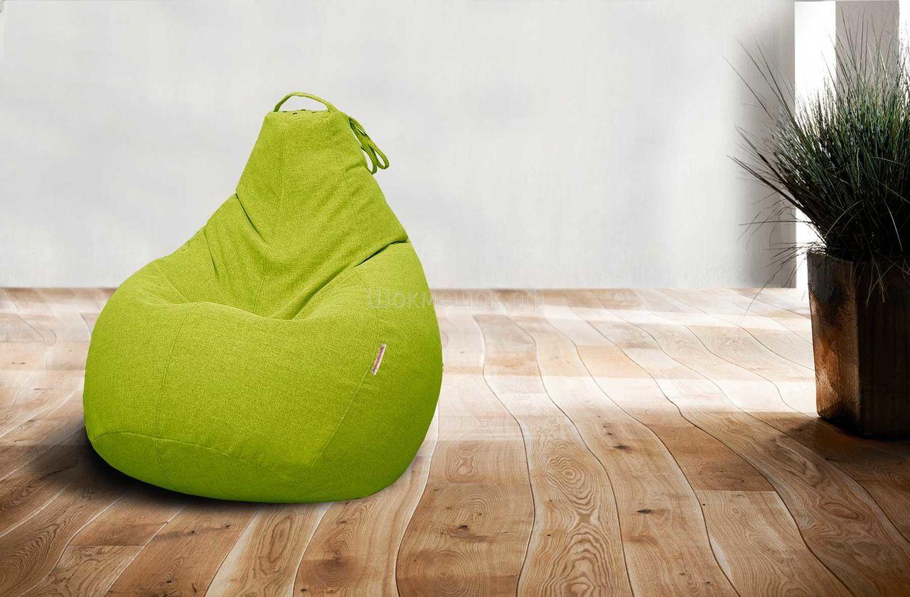 Кресло пуф зеленого цвета