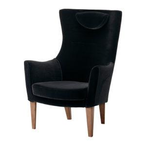 Кресло в черном цвете
