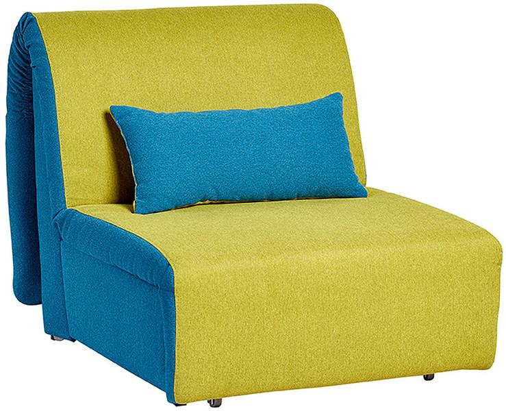 Кресло в желто-синем цвете