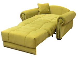 Мягкое и удобное раскладное кресло