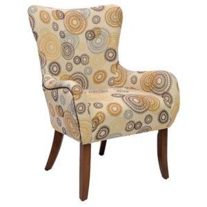 Мягкое кресло на ножках