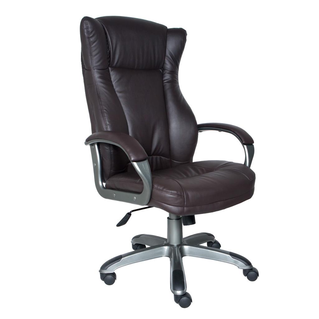 Офисное кресло из кожзама