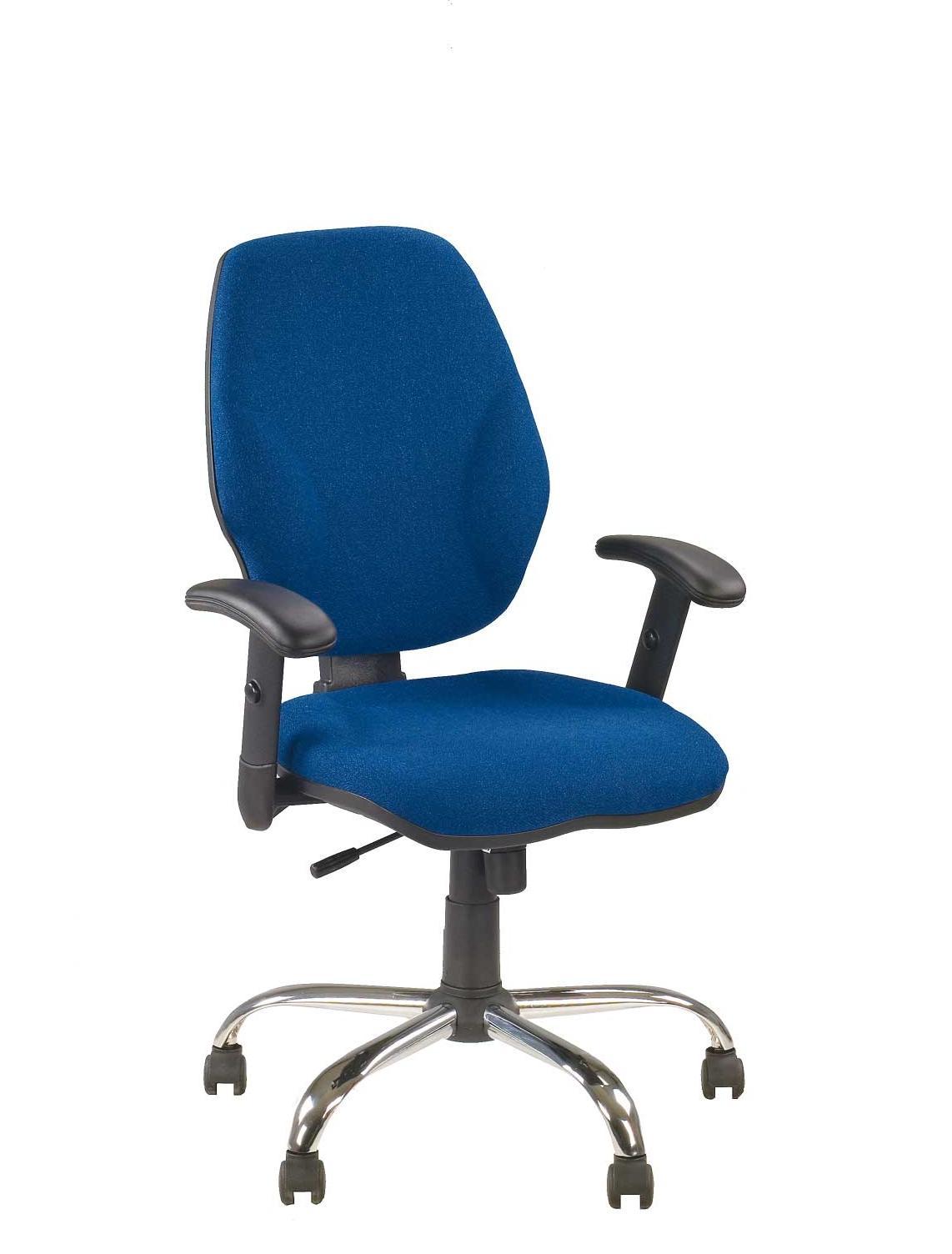 Офисное кресло синее