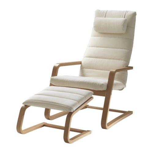 Современное кресло с табуретом для ног