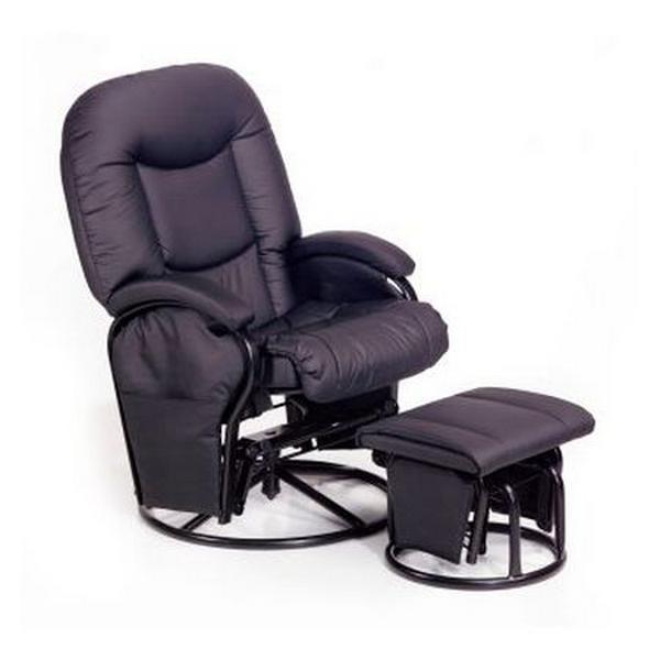 Темное кресло качалка