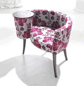 Удобное кресло с подставкой