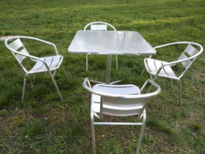 Алюминиевый кресла для сада
