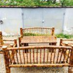 Бамбуковые кресла для интерьера дома