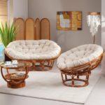 Бамбуковые кресла, созданные для дома