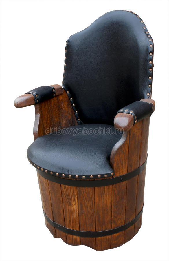 Бочка для изготовления кресла