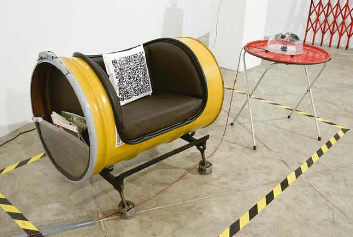 Бочковое кресло