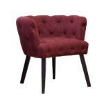 Бордовый цвет современного кресла