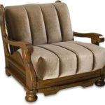 Буковое мягкое кресло для дома