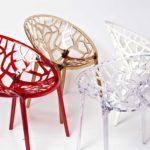 Декоративные элементы пластикового кресла