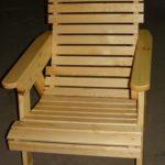 Деревянное корпусное кресло