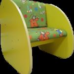 Детское кресло на основе ламината