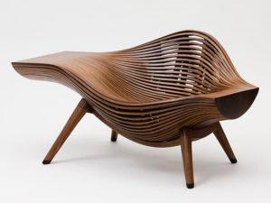 Дизайн деревянного кресла для обустройства дома