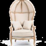 Дизайнерское привлекательное золотое кресло