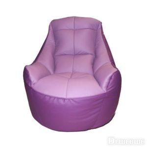 Дизайнерское пурпурное кресло