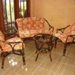 Домашние кресла из бамбука