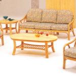Домашние кресла, созданные из бамбука