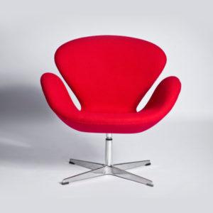 Эксклюзивное красное кресло для дома