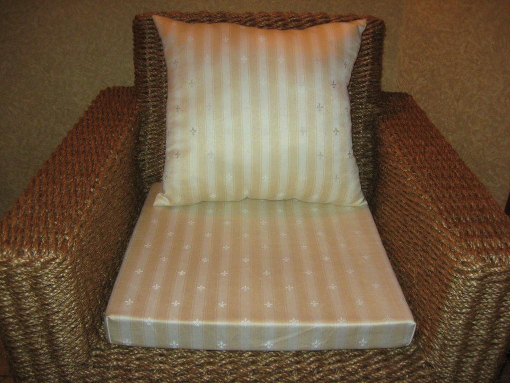 Элитное канатовое кресло