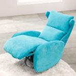 Функциональное и компактное бирюзовое кресло
