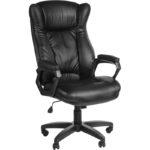Функциональное кресло, созданное в стильном черном цвете