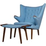 Функциональное кресло в голубом цвете