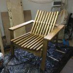 Готовое кресла из лиственницы