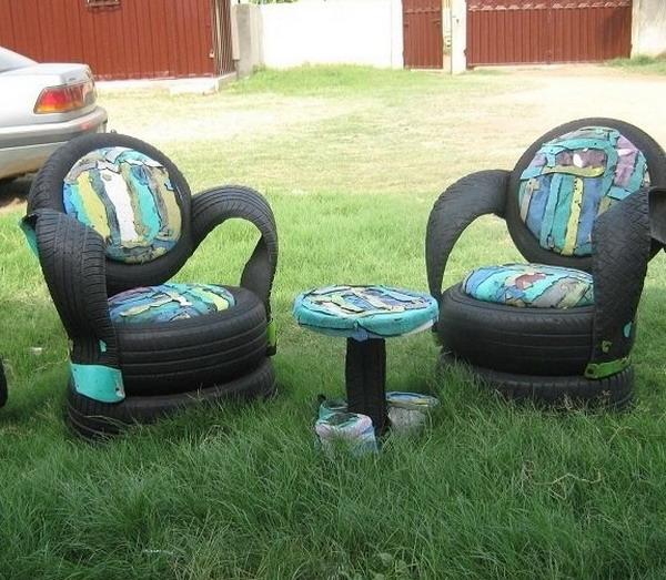 Как использовать колеса для изготовления практичных кресел