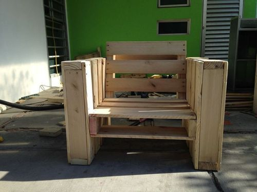 Как использовать поддон для изготовления кресла