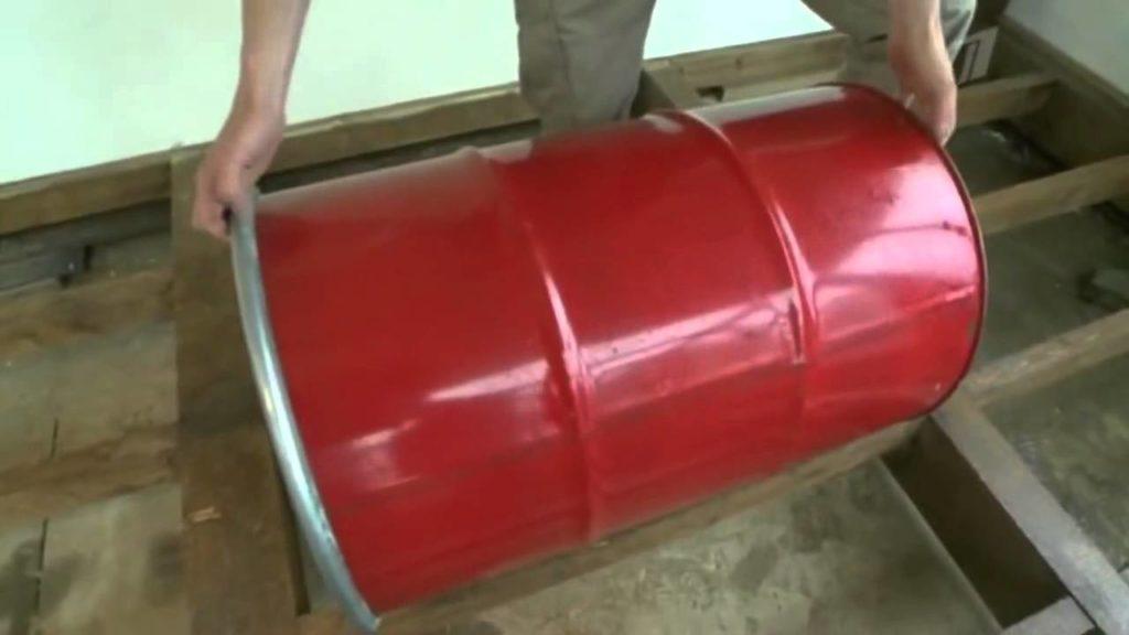 Как самостоятельно сделать кресло из бочки